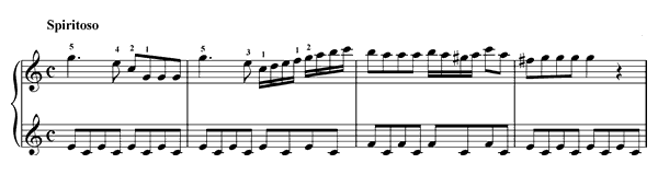 Sonatina Op. 36 No. 3  in C Major by Clementi piano sheet music