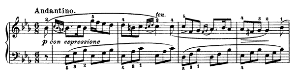 Sonatina Op. 37 No. 1  in E-flat Major by Clementi piano sheet music