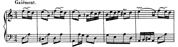 Ordre  No. 19  in D Minor by Couperin piano sheet music