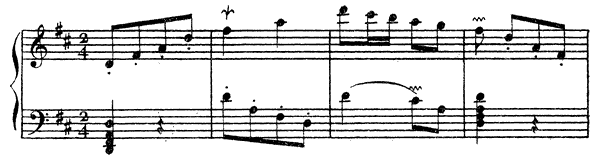 Ordre  No. 22  in D Major by Couperin piano sheet music