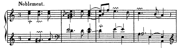 Ordre  No. 24  in A Minor by Couperin piano sheet music