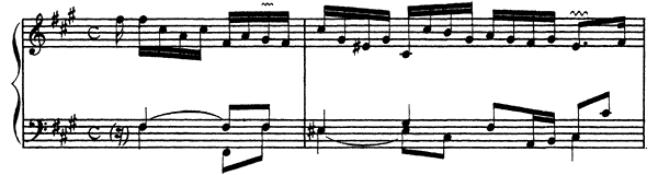 Ordre  No. 26  in F-sharp Minor by Couperin piano sheet music