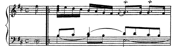 Ordre  No. 27  in B Minor by Couperin piano sheet music