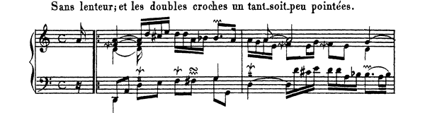 Ordre  No. 2  in D Minor by Couperin piano sheet music