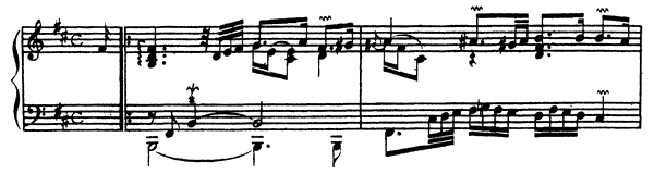 Ordre  No. 8  in B Minor by Couperin piano sheet music