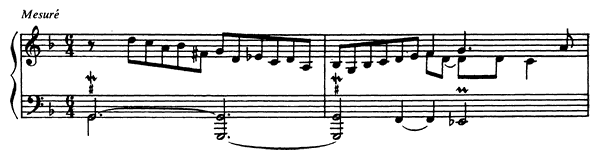 Third Prelude  No. 3  in G Minor by Couperin piano sheet music