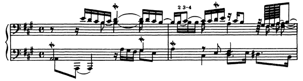 Fifth Prelude  No. 5  in A Major by Couperin piano sheet music