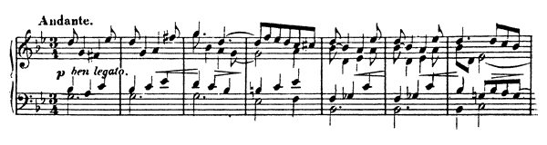 Prelude & Fugue Op. 16 No. 1  in G Minor by Wieck-Schumann piano sheet music