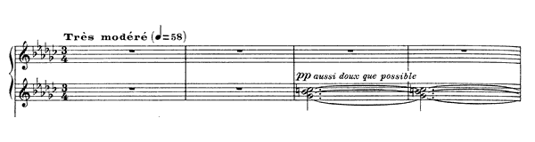 Pour l'Égyptienne  No. 5  by Debussy piano sheet music