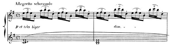 Arabesque  No. 2  in G Major by Debussy piano sheet music
