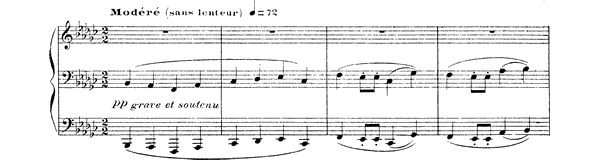 Berceuse héroïque   by Debussy piano sheet music