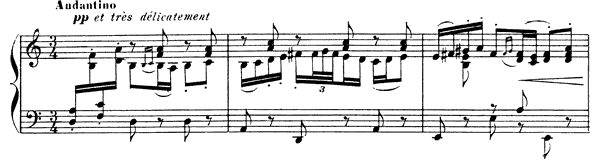Minuet  No. 2  by Debussy piano sheet music
