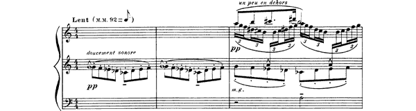 Cloches à travers les feuilles  No. 1  by Debussy piano sheet music