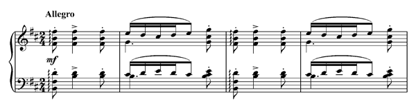 Danse bohémienne   in B Minor by Debussy piano sheet music