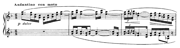 Pour les quartes  No. 3  by Debussy piano sheet music