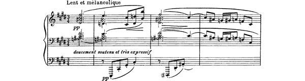 Prelude - Feuilles mortes Book 2 No. 2  by Debussy piano sheet music