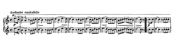 Melodious Exercise Op. 149 No. 24  in A Minor by Diabelli piano sheet music