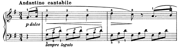 Sonatina Op. 151 No. 1  in G Major by Diabelli piano sheet music