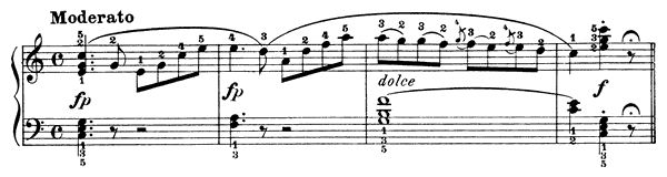 Sonatina Op. 151 No. 2  in C Major by Diabelli piano sheet music