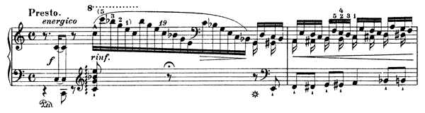 Grand Etude  No. 1  in C Major by Liszt piano sheet music