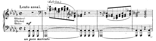 Grand Etude  No. 11  in D-flat Major by Liszt piano sheet music