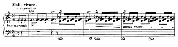 Grand Etude  No. 2  in A Minor by Liszt piano sheet music