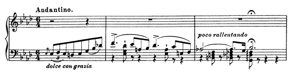 Grand Etude  No. 9  in A-flat Major by Liszt piano sheet music