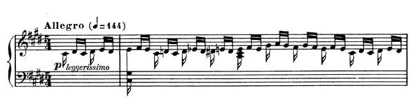 Prelude Op. 103 No. 2  in C-sharp Minor by Fauré piano sheet music