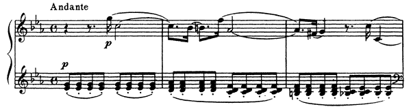 Prelude Op. 16 No. 1  in C Minor by Glière piano sheet music