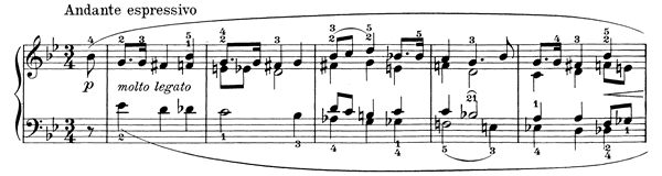 Ballade in the Form of Variations on a Norwegian Folk Song Op. 24  in G Minor by Grieg piano sheet music