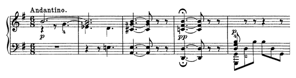 Cow Keeper's Tune and Country Dance (four hands) Op. 63 No. 2  in G Major by Grieg piano sheet music