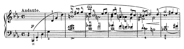 It Happened in my Youth Op. 66 No. 5  in C Minor by Grieg piano sheet music