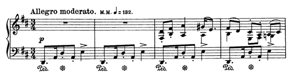 John Vestafe's Springdans Op. 72 No. 2  in D Major by Grieg piano sheet music
