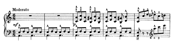 The Woman from Setesdhal Op. 17 No. 21  in A Minor by Grieg piano sheet music