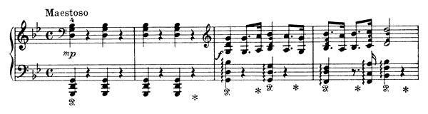 The Raven's Wedding in Krakalund Op. 17 No. 25  in G Minor by Grieg piano sheet music
