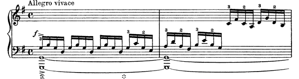 Prelude Op. 40 No. 1  in G Major by Grieg piano sheet music