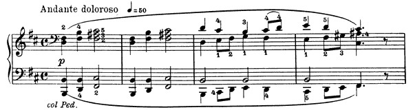 Åse's Death Op. 46 No. 2  in B Minor by Grieg piano sheet music
