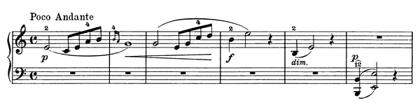 Solvejg's Song Op. 52 No. 4  in A Minor by Grieg piano sheet music