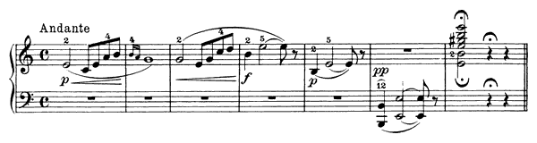 Solvejg's Song Op. 55 No. 4  in A Minor by Grieg piano sheet music