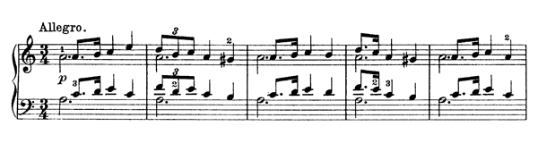 Ranveig Op. 66 No. 12  in A Minor by Grieg piano sheet music