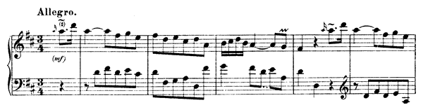 Sonata Hob. 16 No. 24  in D Major by Haydn piano sheet music