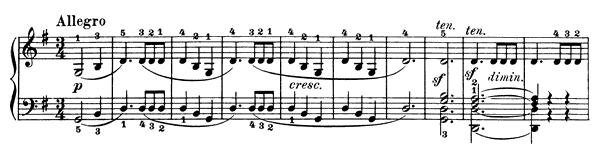 Sonatina Op. 20 No. 2  in G Major by Kuhlau piano sheet music
