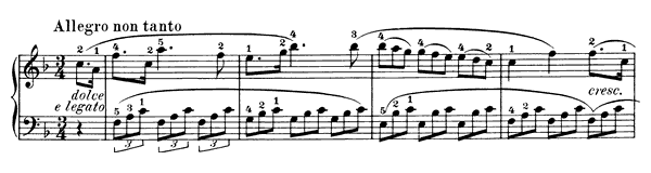 Sonatina Op. 55 No. 4  in F Major by Kuhlau piano sheet music