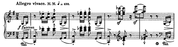 Ranz de chèvres S. 156 No. 12   in G Major by Liszt piano sheet music