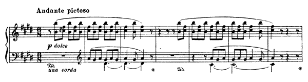 Angléus! Prière aux anges gardiens  No. 1  by Liszt piano sheet music