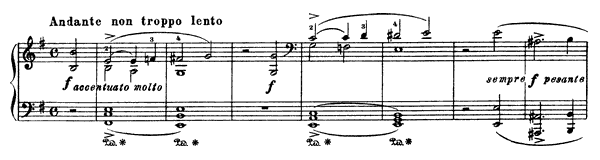 Aux cyprès de la Villa d'Este II  No. 3  by Liszt piano sheet music