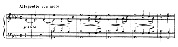 Églogue  No. 7  by Liszt piano sheet music