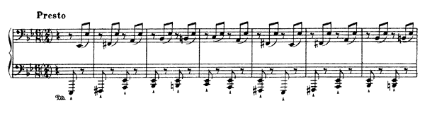 Tarantella  No. 3  by Liszt piano sheet music