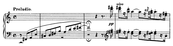 Ballade  No. 1  in D-flat Major by Liszt piano sheet music