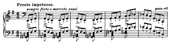 Ab Irato: Grand Finishing Etude  S. 143  in E Minor by Liszt piano sheet music